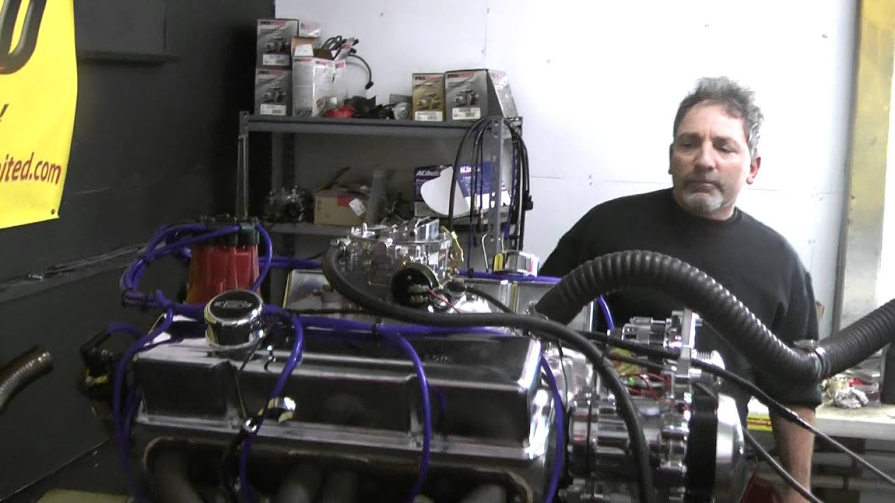 Chevy 350 Turn Key Crate Engine With 375hp