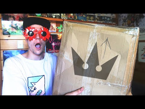 KINGDOM HEARTS NERD OPENS BIG KINGDOM HEARTS PACKAGE!