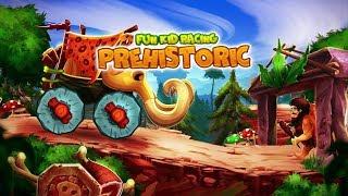 Taşdevri Araba Yarışı 🐘 - Fun Racing Prehistoric Game - Tniy Lab Games - Bıcır Fun Game Channel 🐘