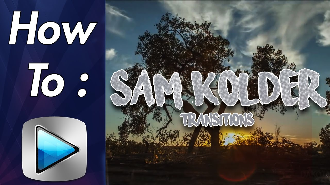 how to sam kolder transitions zoom inout luma fade in sony vegas best youtube