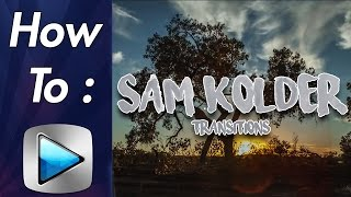 How To: Sam Kolder Transitions (Zoom In/Out, Luma Fade) In Sony Vegas! BEST 2018