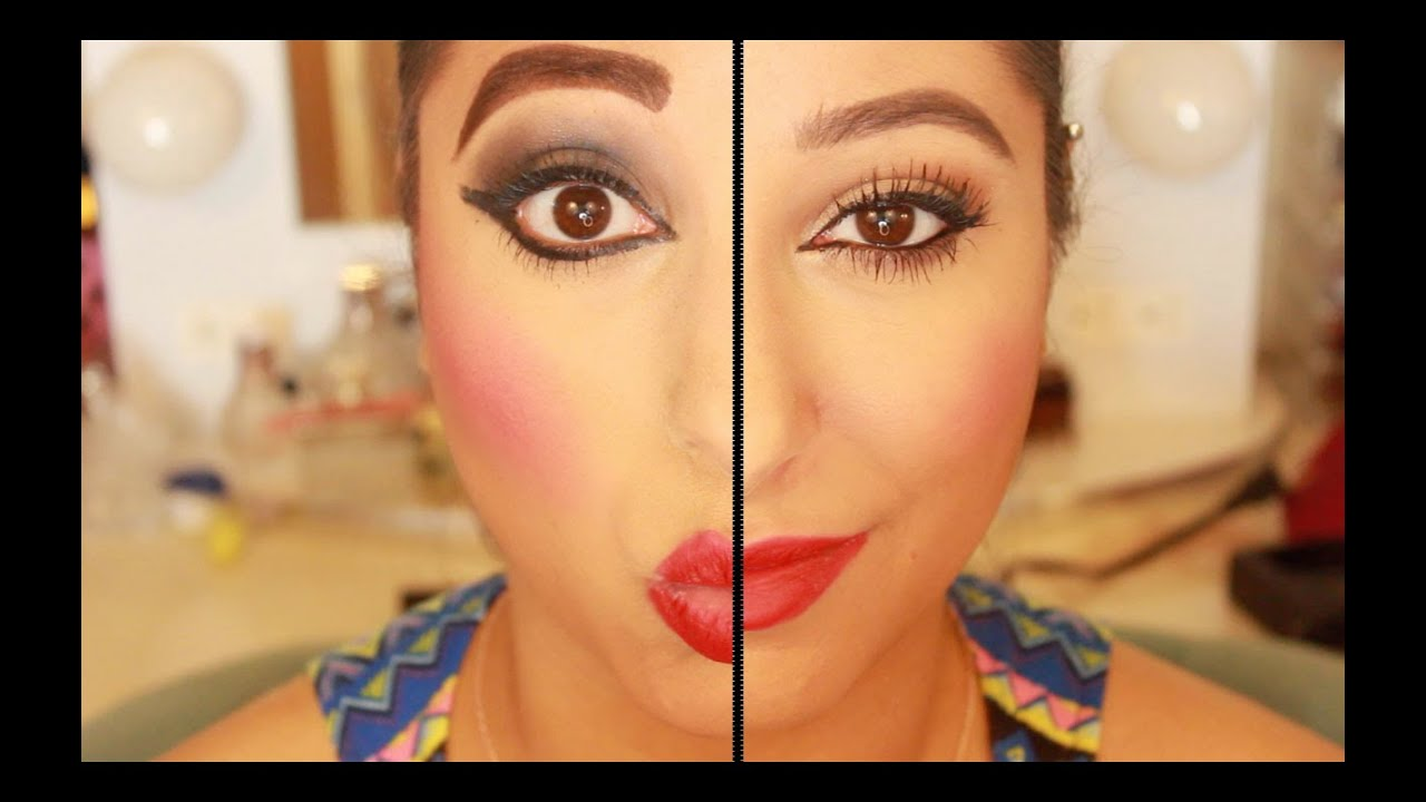 How to apply makeup 21