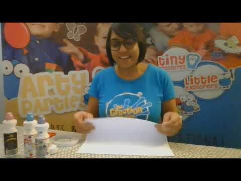Create a paper lantern in 2 minutes. Easy art and craft activity for children