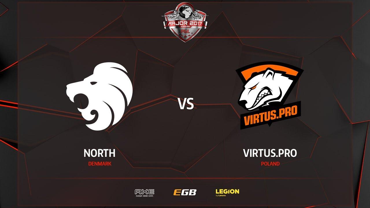 North vs Virtus.pro, mirage, PGL Major Kraków 2017