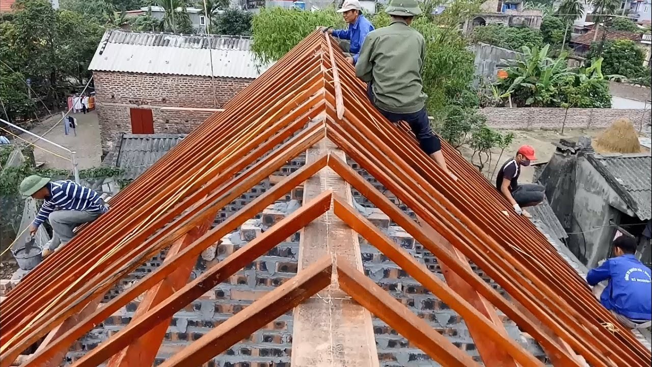 How to Building Frame a Roof  Amazing Smart Techniques