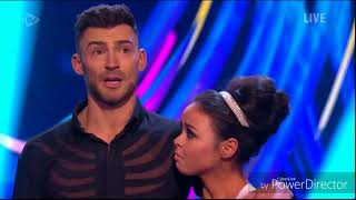 Jake Quickenden and Vanessa Bauer skating in Dancing on Ice: Semi Final (Second Skate) (4/3/18)
