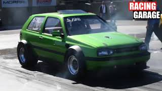 Crazy Twin Engine 2000HP Golf VR6 Turbo