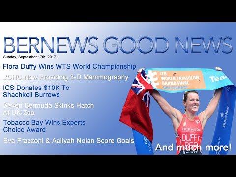 "Bernews ""Good News"" Sunday Spotlight, September 17, 2017"