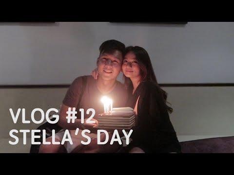 Daily Vlog #12- Ulang Tahun Stella + main main di laut