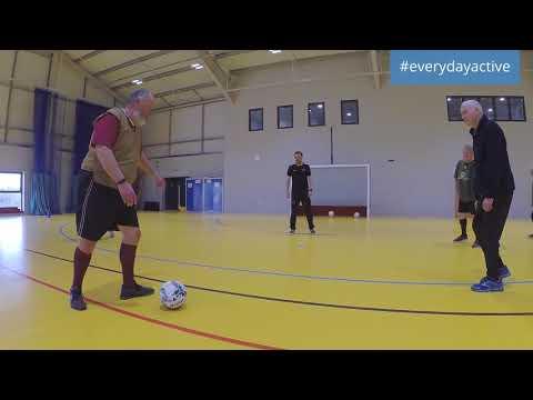 #everydayactive insights - walking football - working in partnership