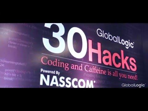 30Hacks   GlobalLogic in association with NASSCOM in New Delhi 2016