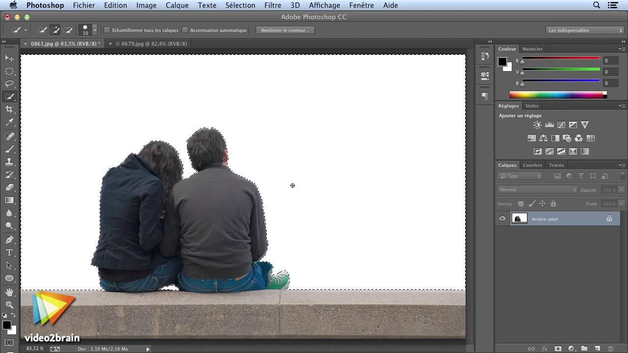 Tutoriel Adobe Photoshop Cc Changer Un Fond Dans Photoshop Cc