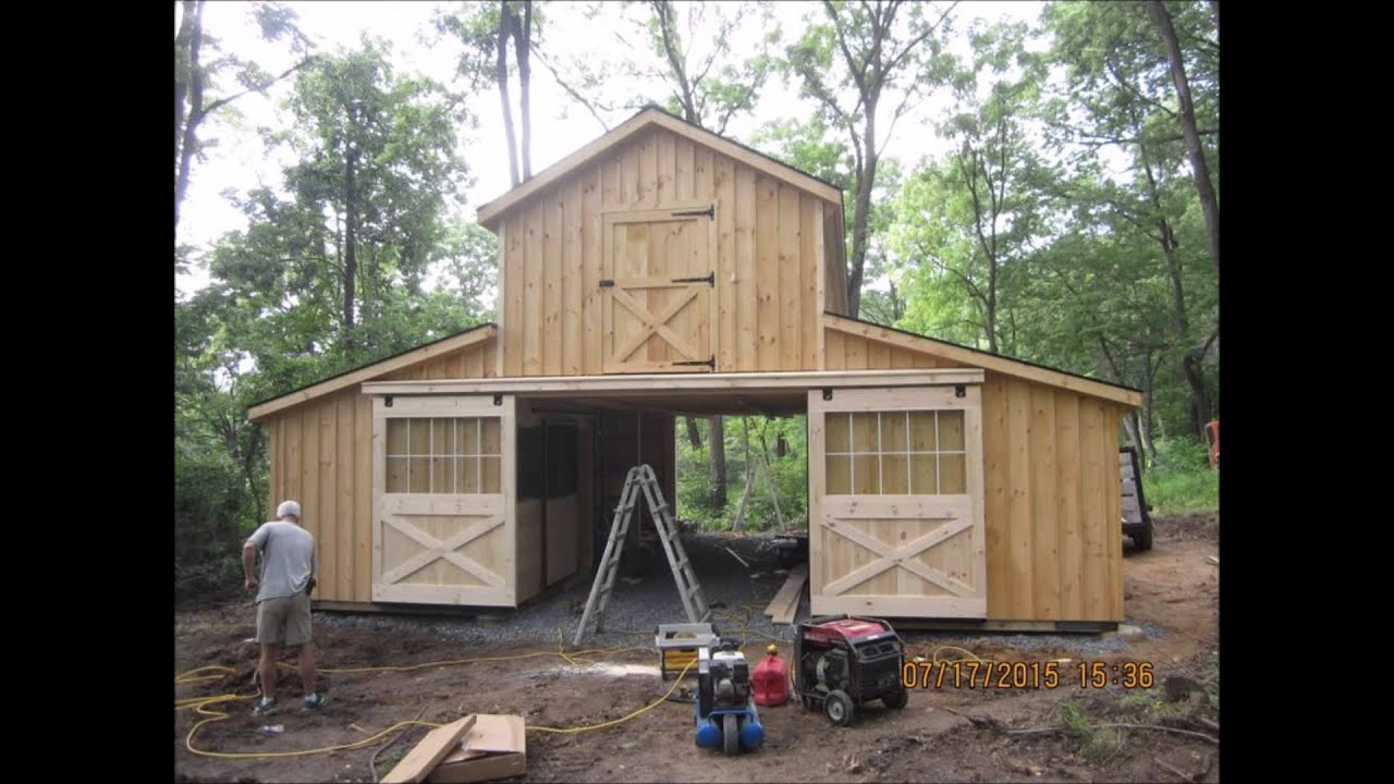 Monitor Style Pole Barn Plans