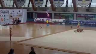 Групповое выступление Щелковских гимнасток 3 разряд