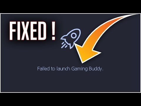 Fix Failed to Launch Gaming Buddy | Tencent Gaming Buddy Issue Fixed | 2019