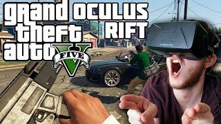 ЭТО БЕЗУМИЕ GTA V Oculus Rift DK2