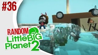 TSUNAMI SURVIVAL - Little Big Planet 2: Random Multiplayer - Ep. 36