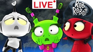 Cartoon for Children | LIVE 🔴| Rob The Robot Show | Funny Animation for Kids