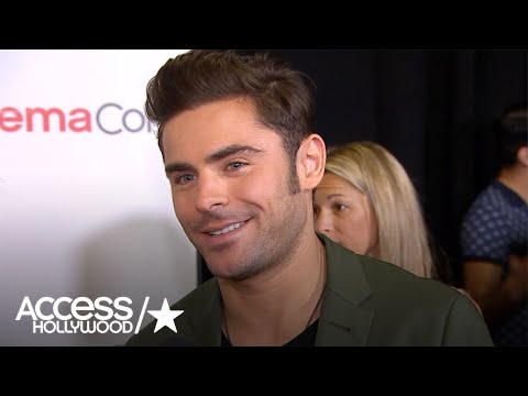 Zac Efron Talks Doing Pushups In Between Takes On 'Baywatch'; CinemaCon Fun