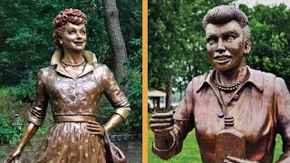 This Lucille Ball Statue Caused Nightmares