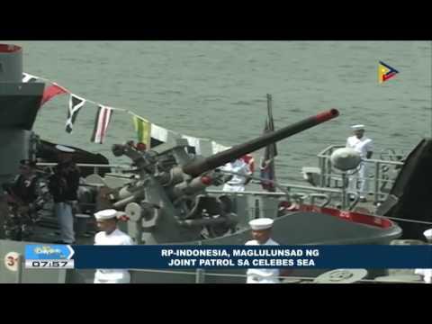 RP-Indonesia, maglulunsad ng joint patrol sa Celebes Sea