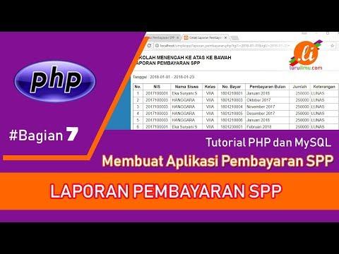 Membuat Laporan Berdasarkan Nama Dengan Php