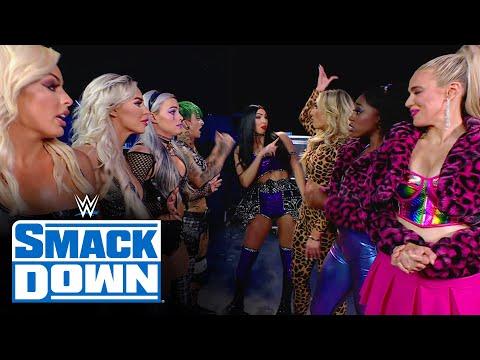 Several women's tag teams get into backstage brawl: SmackDown, April 9, 2021