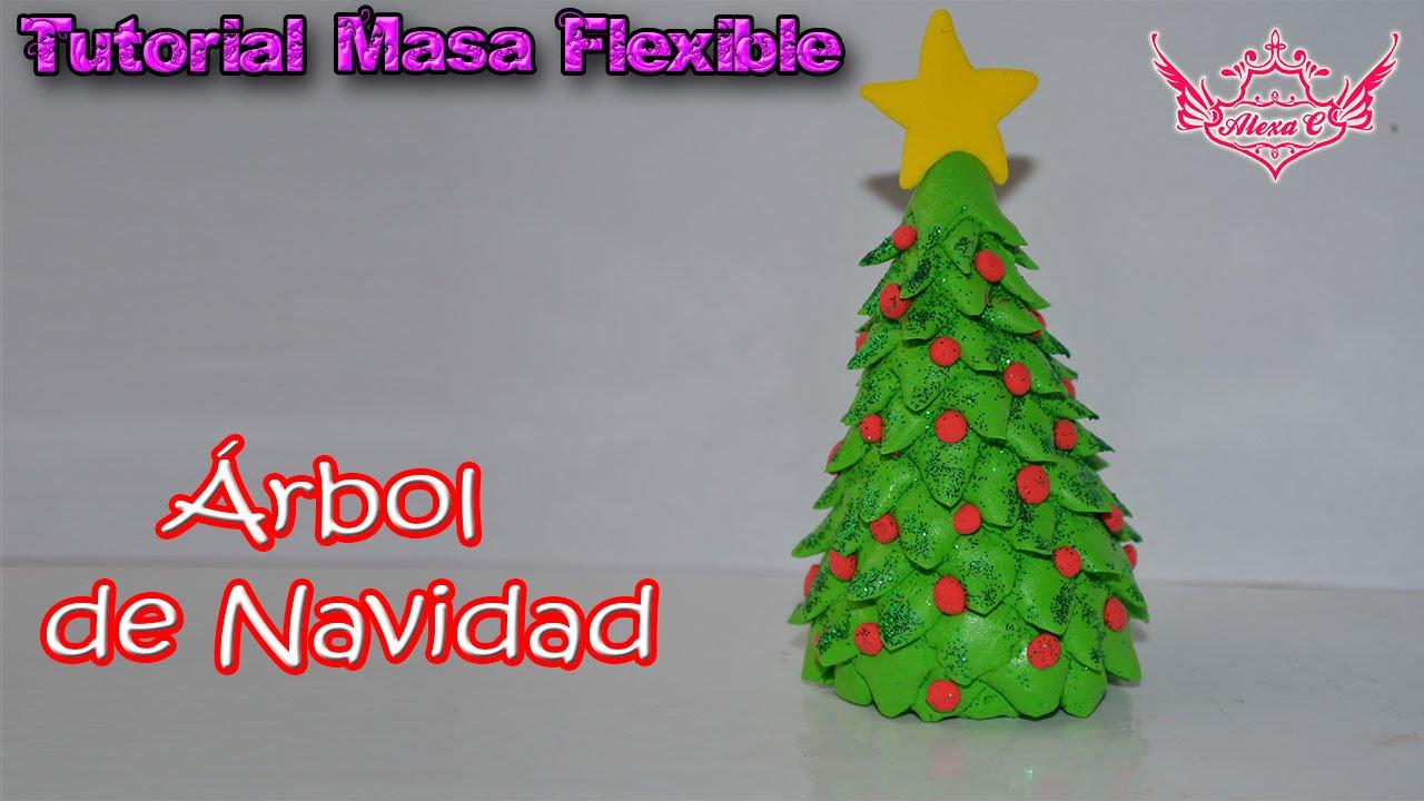 ♥ Tutorial: Árbol de Navidad de Masa Flexible ♥ - YouTube