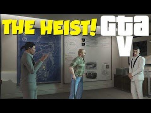 THE HEIST! - GTA V / GTA 5 PC - The Fleeca Job - [Dansk Gameplay]