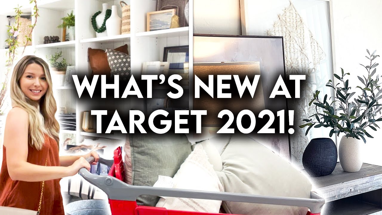 TARGET HOME DECOR SHOP WITH ME   NEW STUDIO MCGEE FALL 2021
