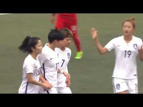 HONG KONG - KOREA REP. Highlights (Women's) | EAFF E-1 FOOTBALL CHAMPIONSHIP 2017 Round 2 HONG KONG