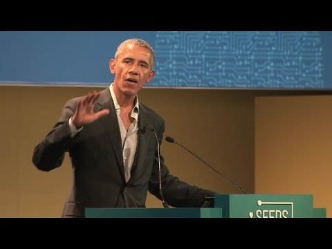 Obama: Climate change will lead to food shortages