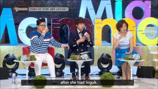 Seo In Guk's Funny Reaction About The Secret Of His Birth (Eng Sub)