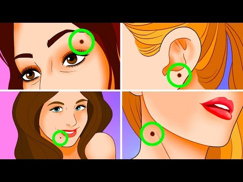 What Moles On a Women's Body Say About Their Personality