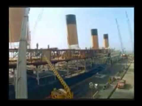 Construction of the titanic 1997 with audio of the movie - Construccion del titanic ...