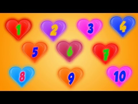 Ten Little Numbers | Number Songs For Children | Cartoons For Toddlers by Kids Tv