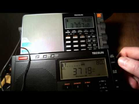 Tecsun PL-680 & PL-880 Test On 80-meter Band