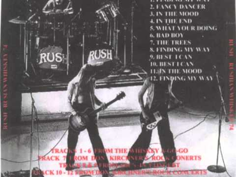 RUSH - Rushian Whiskey - Rush Tour 1974 (full)