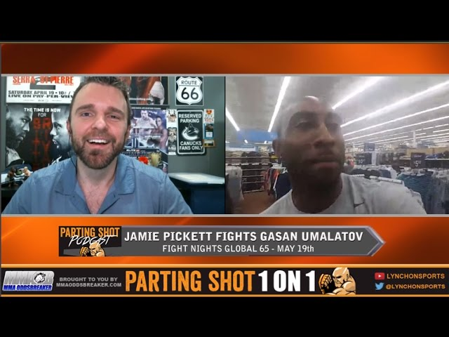"Fight Night Global's Jamie Pickett ""Gasan Umalatov won't go to the ground with me"""