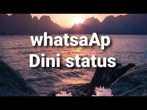 WhatsAp üçün dini status( istəyənlər üçün sifarişlə vido düzəldilir)