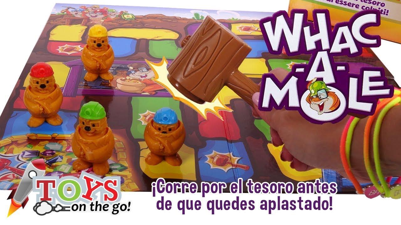 Whac-a-Mole en busca del Tesoro 💎