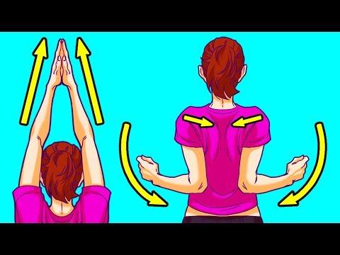 Если болит спина зарядка