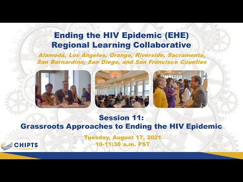 EHE Regional Learning Collaborative Session: Grassroots Approaches to Ending the HIV Epidemic