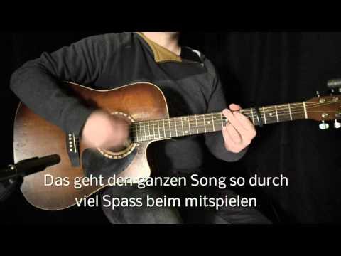 Michel Telo - Ai Se Eu Te Pego - Guitar Lesson mit Akkorden / Chords