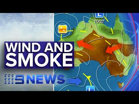 Strong Winds, Smoke Haze Forecast For Parts Of Australia | Nine News Australia