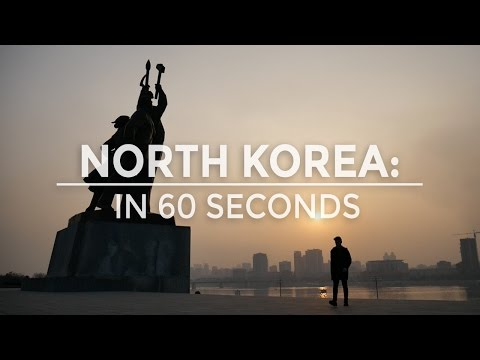 NORTH KOREA IN 60 SECONDS | THE TRAVEL TWO
