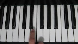 Как Играть - Черный Бумер на Пианино