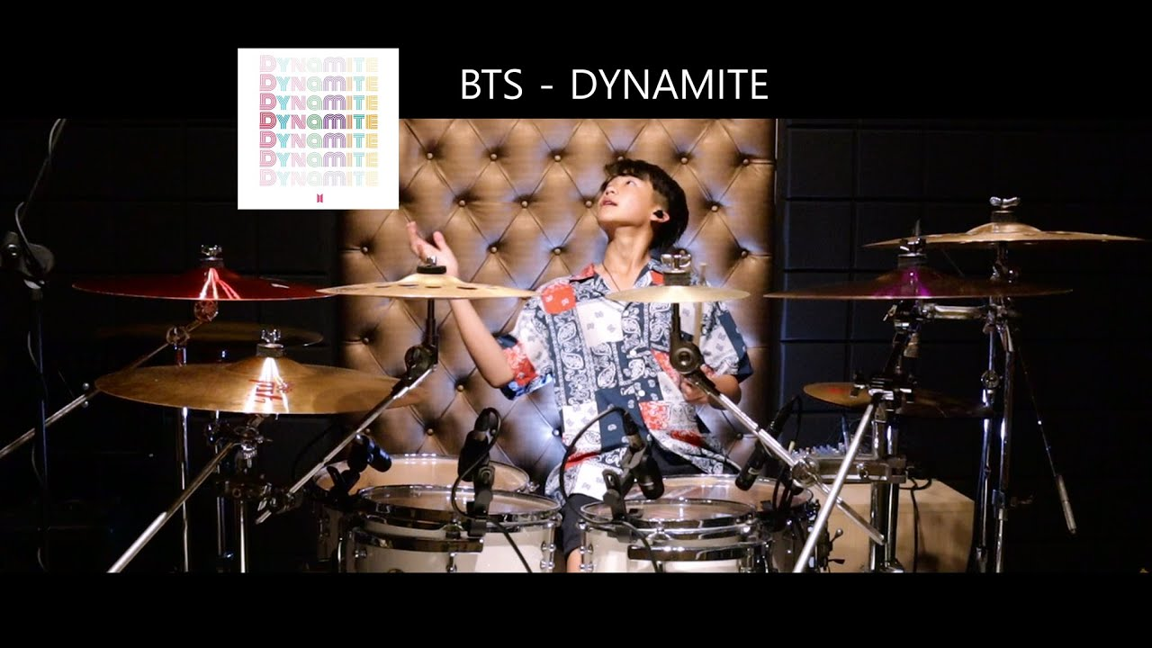 BTS (방탄소년단) 'Dynamite' | Drum cover | Gene OVD 13 Years old