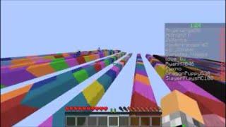 Minecraft: Rainbow Jump