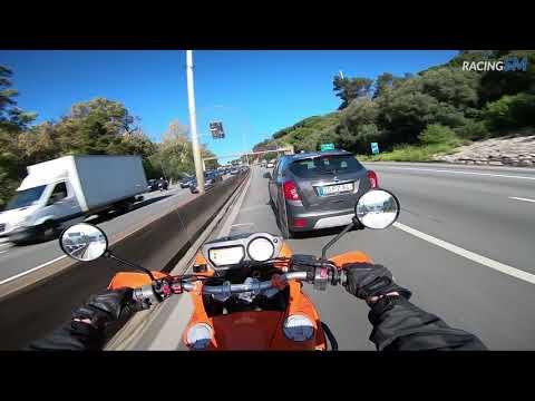 KTM 990 Adventure daily commute in Lisbon